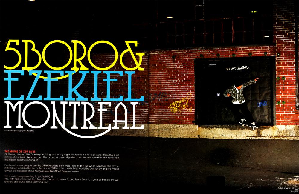 FTK Magazine - 5boro & Ezekiel in Montreal